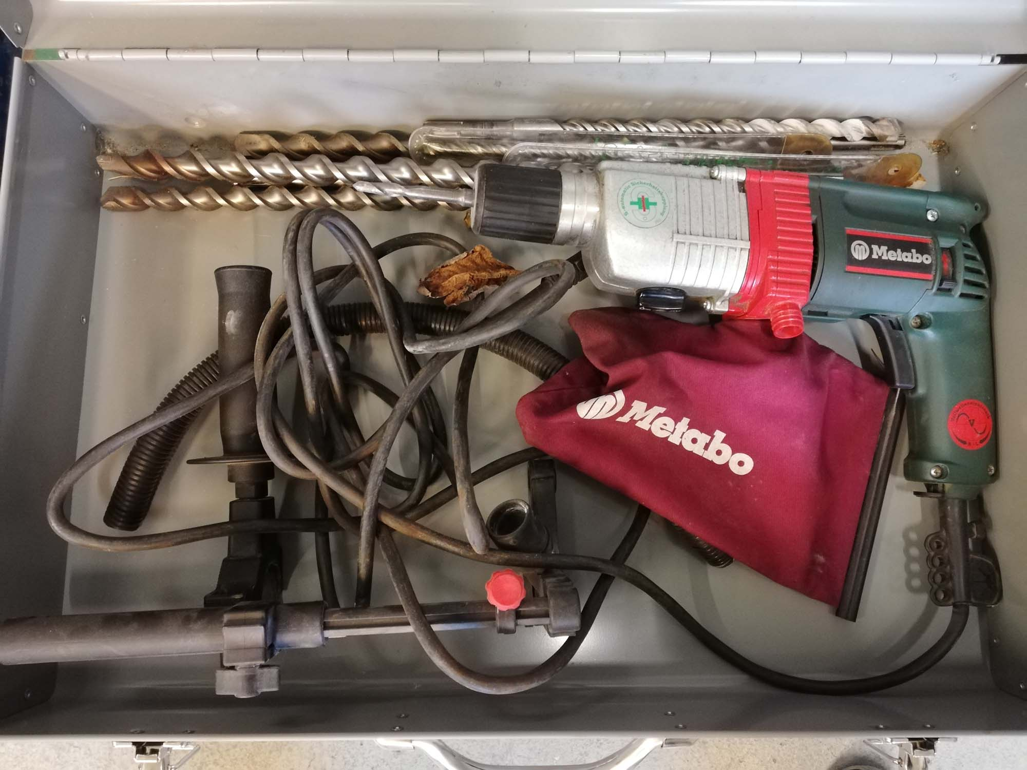 Metabo borehammer 300w udlejning