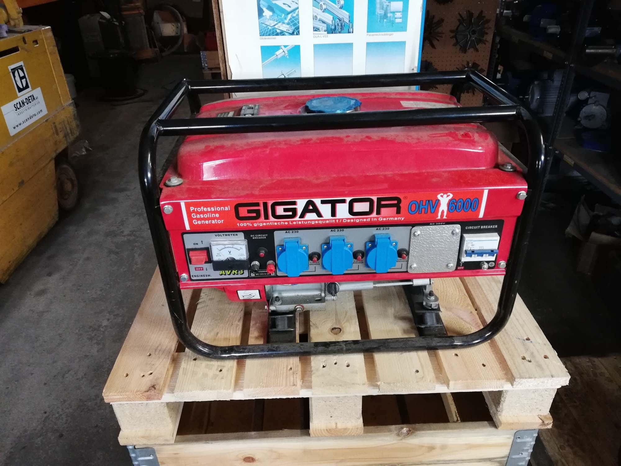 generator udlejning