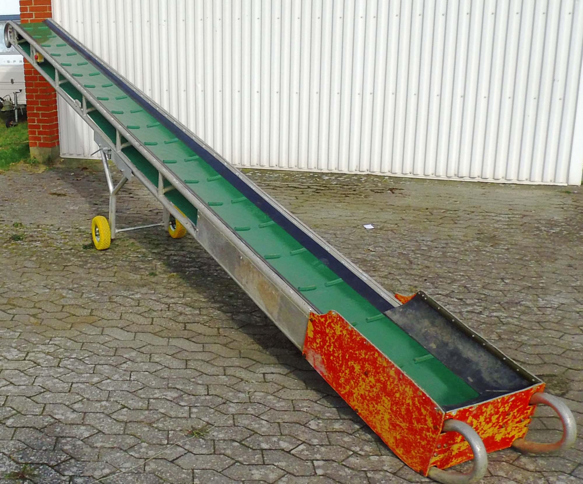 transportør 6 meter udlejning
